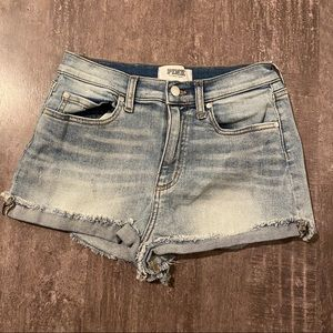 PINK by Victoria's Secret Denim Distressed Shorts8